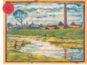 Steenfabriek bij Buren